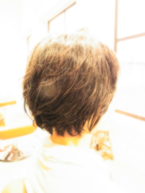 スタイリング簡単プレミアムスーパーカット☆☆☆☆☆&permショート☆ヘアスタイル☆のサムネイル