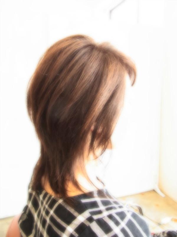 スタイリング簡単プレミアムスーパーカット☆☆☆☆☆&上品セミディ☆ヘアスタイル☆のサムネイル