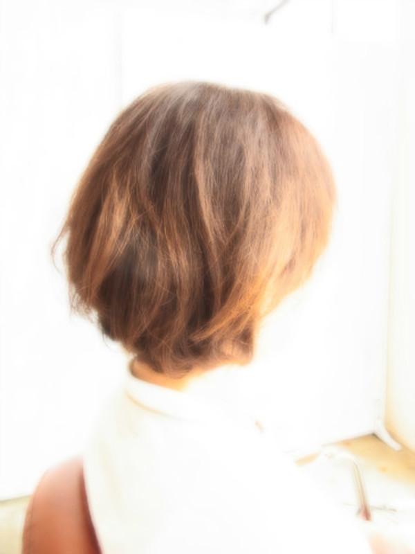 スタイリング簡単プレミアムスーパーカット☆☆☆☆☆&上品ふわBOB☆ヘアスタイル☆のサムネイル