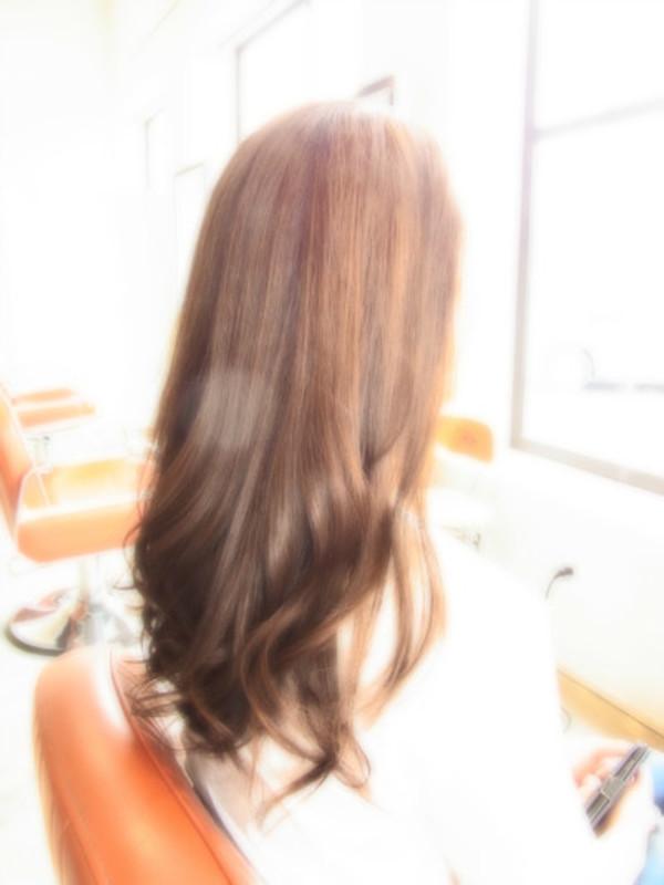 スタイリング簡単プレミアムスーパーカット☆☆☆☆☆&上品ロング☆ヘアスタイル☆のサムネイル