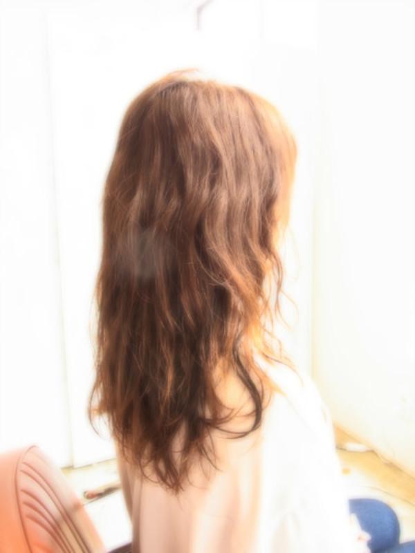 スタイリング簡単プレミアムスーパーカット☆☆☆☆☆&LONGパーマ☆ヘアスタイル☆のサムネイル