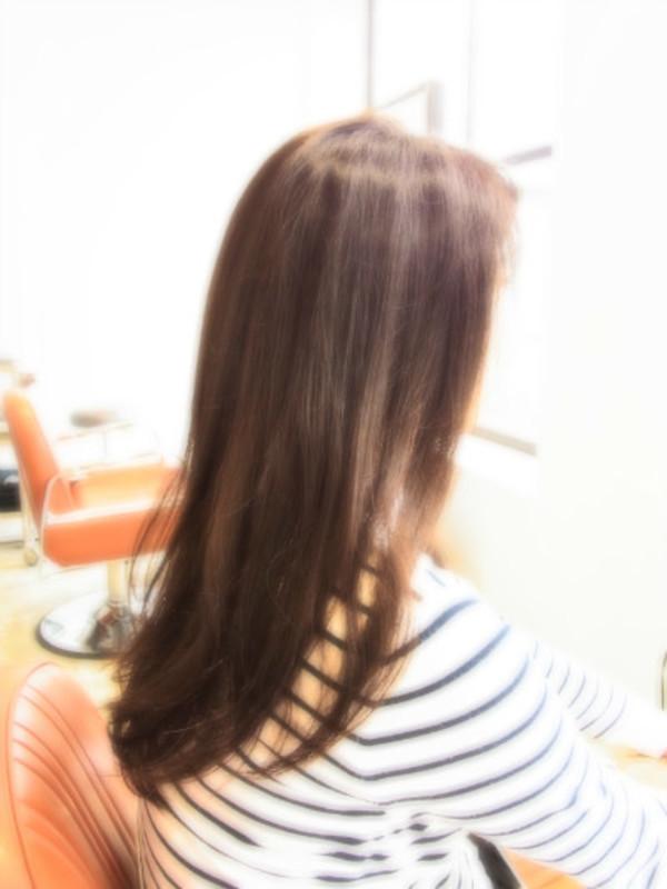 スタイリング簡単プレミアムスーパーカット☆☆☆☆☆&フェミニンロングヘアスタイル☆のサムネイル
