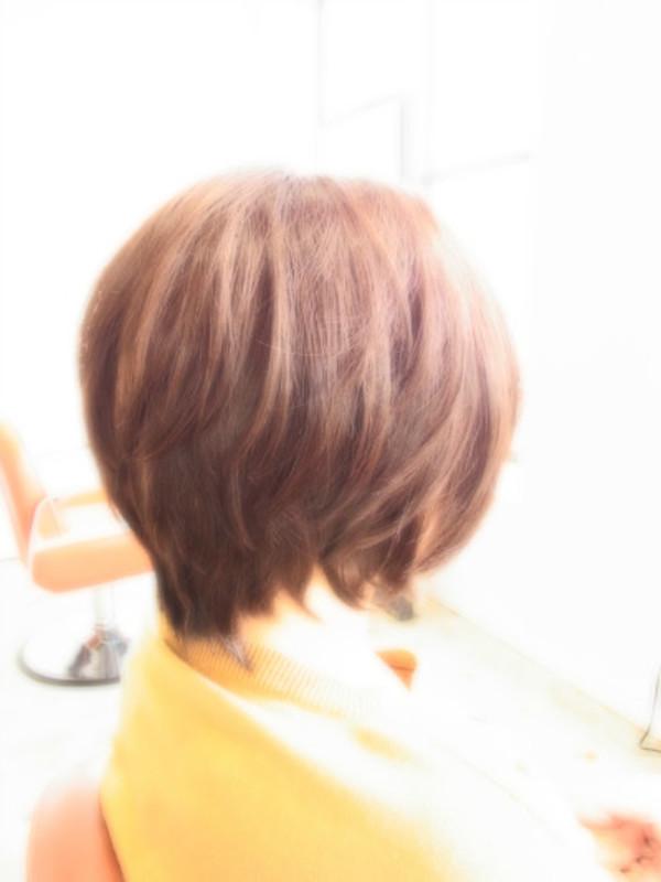 スタイリング簡単プレミアムスーパーカット☆☆☆☆☆&ニュアンスショートヘアスタイル☆のサムネイル