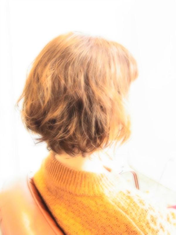 スタイリング簡単プレミアムスーパーカット☆☆☆☆☆&ウエーブBOB☆ヘアスタイル☆のサムネイル