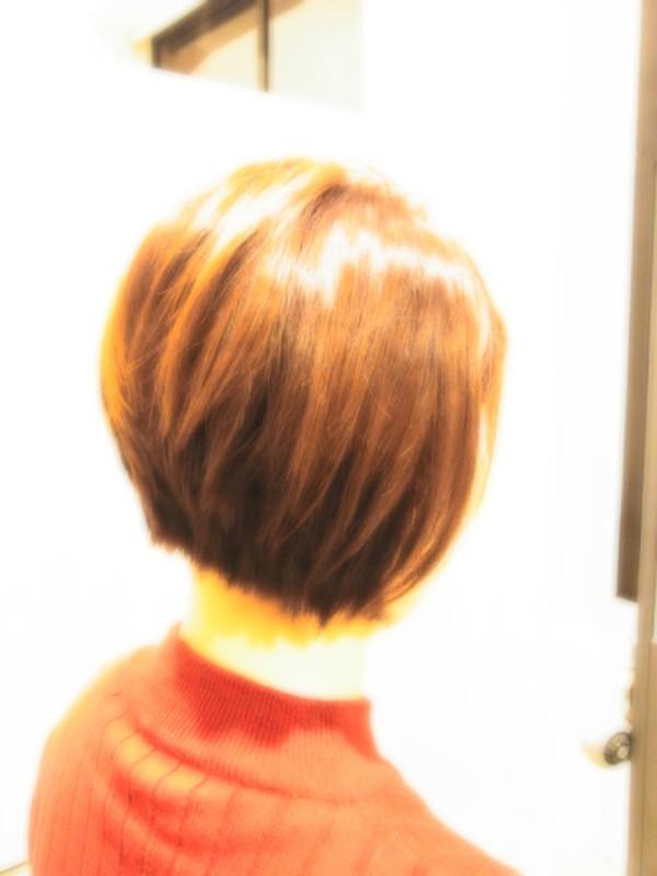 スタイリング簡単プレミアムスーパーカット☆☆☆☆☆&後ろ上がりShortヘアスタイル☆のサムネイル