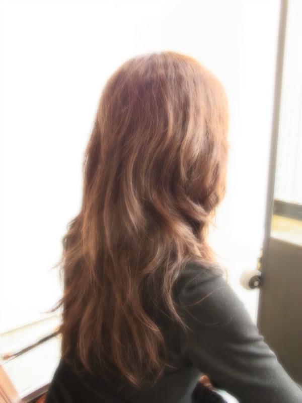 スタイリング簡単プレミアムスーパーカット☆☆☆☆☆&ロングパーマ☆ヘアスタイル☆のサムネイル