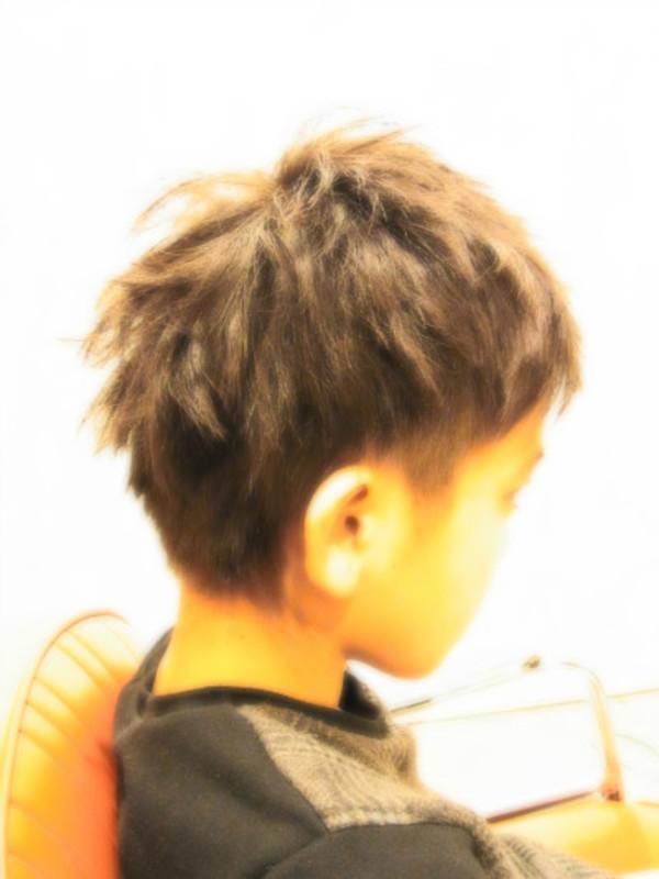 スタイリング簡単プレミアムスーパーカット☆☆☆☆☆&キッズショートヘアスタイル☆のサムネイル