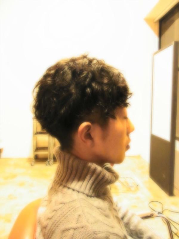 スタイリング簡単プレミアムスーパーカット☆☆☆☆☆&ショートパーマ☆ヘアスタイル☆のサムネイル