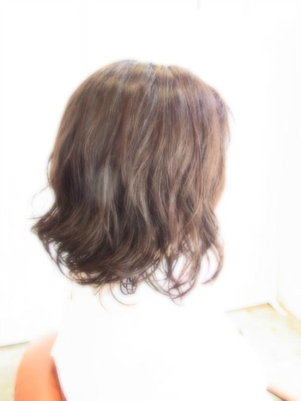 スタイリング簡単プレミアムスーパーカット☆☆☆☆☆&ミディアムパーマ☆ヘアスタイル☆のサムネイル