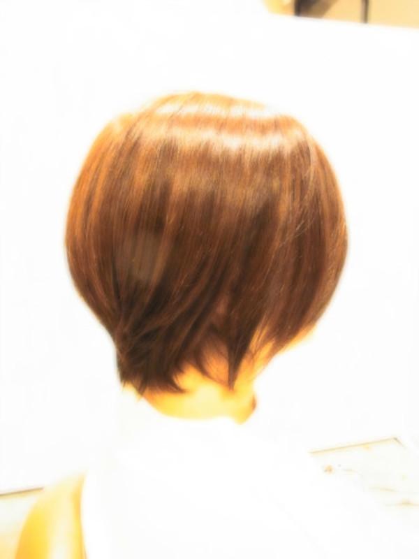 スタイリング簡単プレミアムスーパーカット☆☆☆☆☆&ナチュラルショートヘアスタイル☆のサムネイル