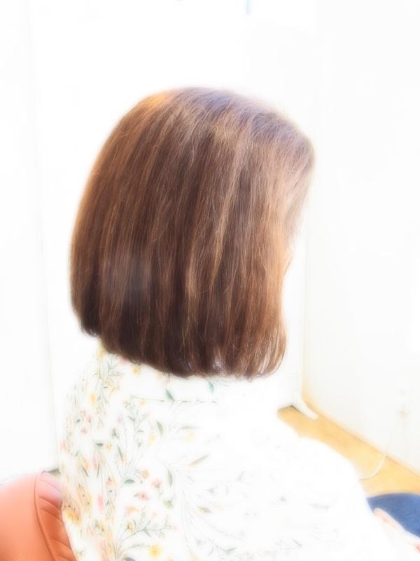 スタイリング簡単プレミアムスーパーカット☆☆☆☆☆&ナチュラルBOB☆ヘアスタイル☆のサムネイル