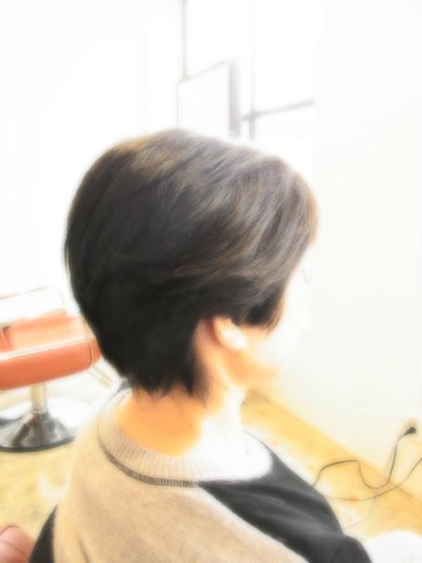 スタイリング簡単プレミアムスーパーカット☆☆☆☆☆&上品ショート☆ヘアスタイル☆のサムネイル