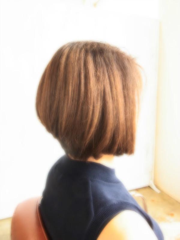 スタイリング簡単プレミアムスーパーカット☆☆☆☆☆&後ろ上がりBOB☆ヘアスタイル☆のサムネイル