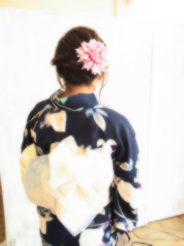 浴衣☆着付け☆UP☆イベント☆パーティー☆花火大会☆お祭り☆夏祭り☆ヘアアレンジ☆のサムネイル