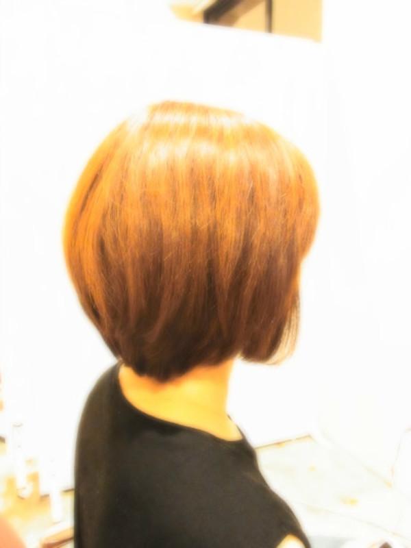 スタイリング簡単プレミアムスーパーカット☆☆☆☆☆&上品Shortボブ☆ヘアスタイル☆のサムネイル