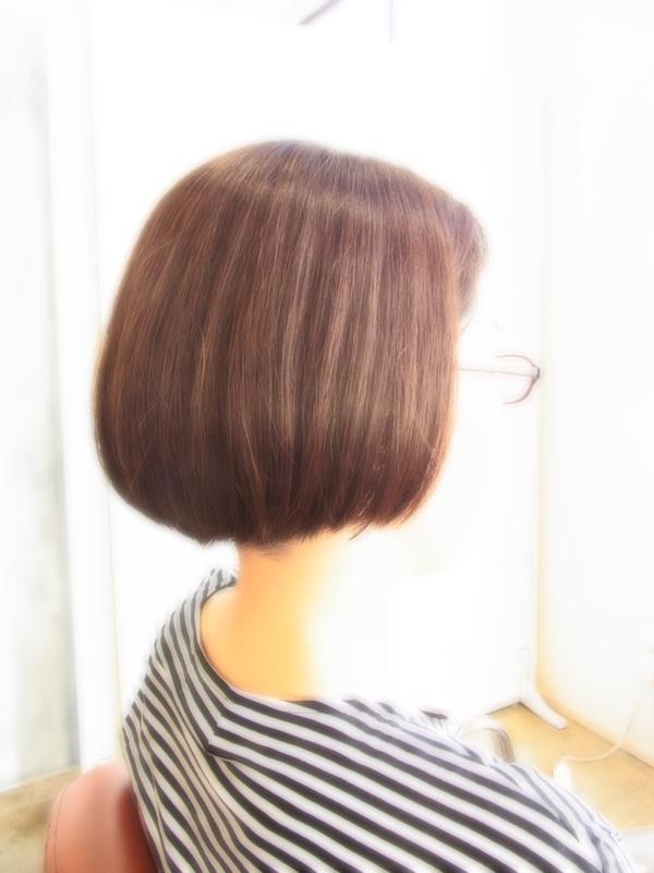 スタイリング簡単プレミアムスーパーカット☆☆☆☆☆&Shortボブ☆ヘアスタイル☆のサムネイル