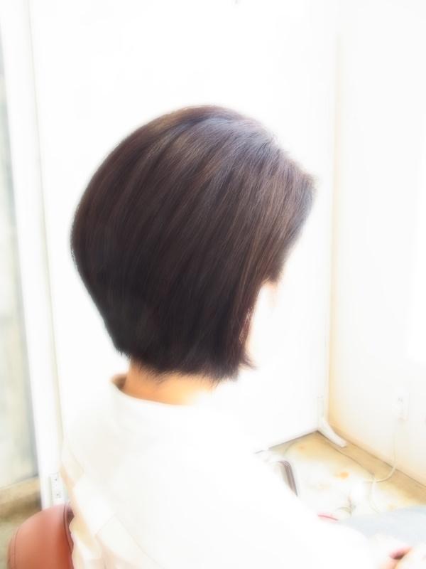 スタイリング簡単プレミアムスーパーカット☆☆☆☆☆&後ろ上がりBOBヘアスタイル☆のサムネイル