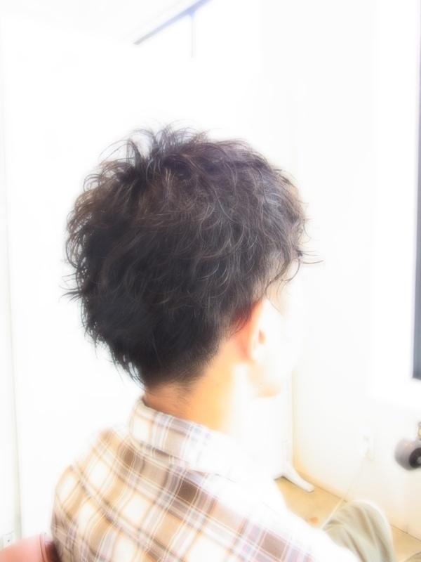 スタイリング簡単プレミアムスーパーカット☆☆☆☆☆&パーマショート☆ヘアスタイル☆のサムネイル