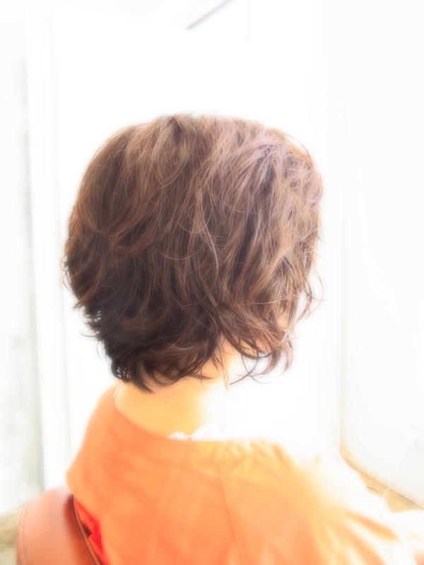 ボンジュール☆パーマShortボブ☆ヘアスタイル☆