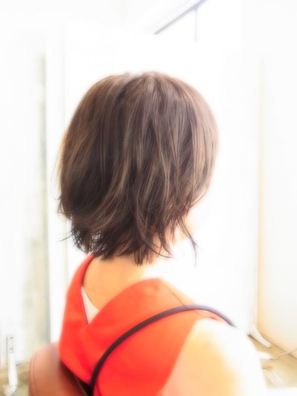 ボンジュール☆ニュアンスパーマショート☆ヘアスタイル☆