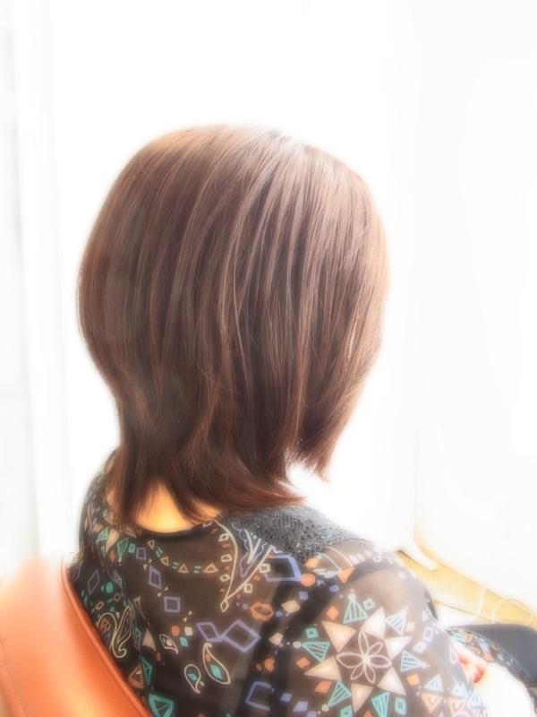 ボンジュール☆ニュアンスミディアム☆ヘアスタイル☆