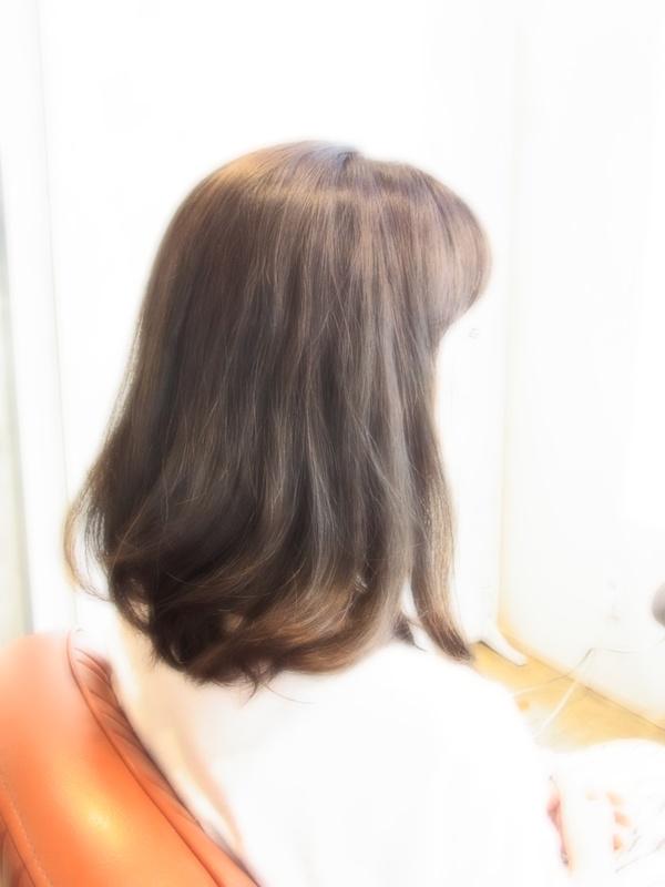 ボンジュール!ニュアンスセミディ☆ヘアスタイル☆