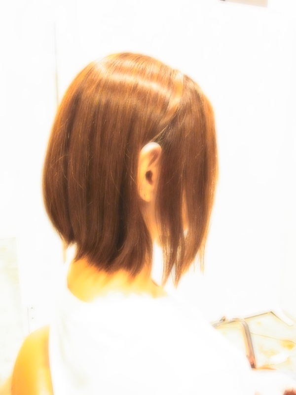 ボンジュール☆外ハネ☆BOB☆ヘアスタイル☆