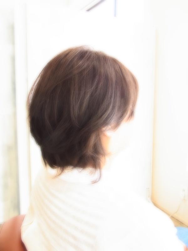 ボンジュール☆ニュアンスショート☆ヘアスタイル☆