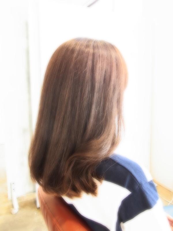 スタイリング簡単プレミアムスーパーカット☆☆☆☆☆&セミロング☆ヘアスタイル☆のサムネイル