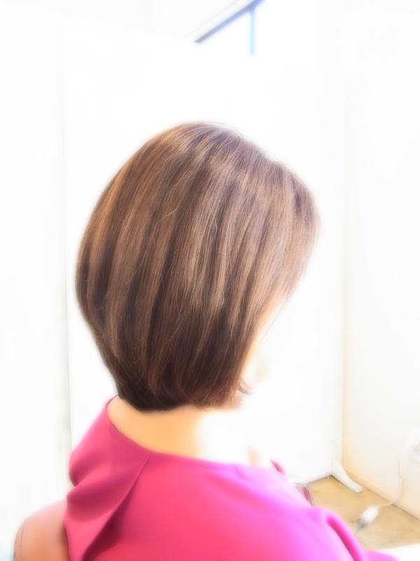 スタイリング簡単プレミアムスーパーカット☆☆☆☆☆&前下がりBOBヘアスタイル☆のサムネイル