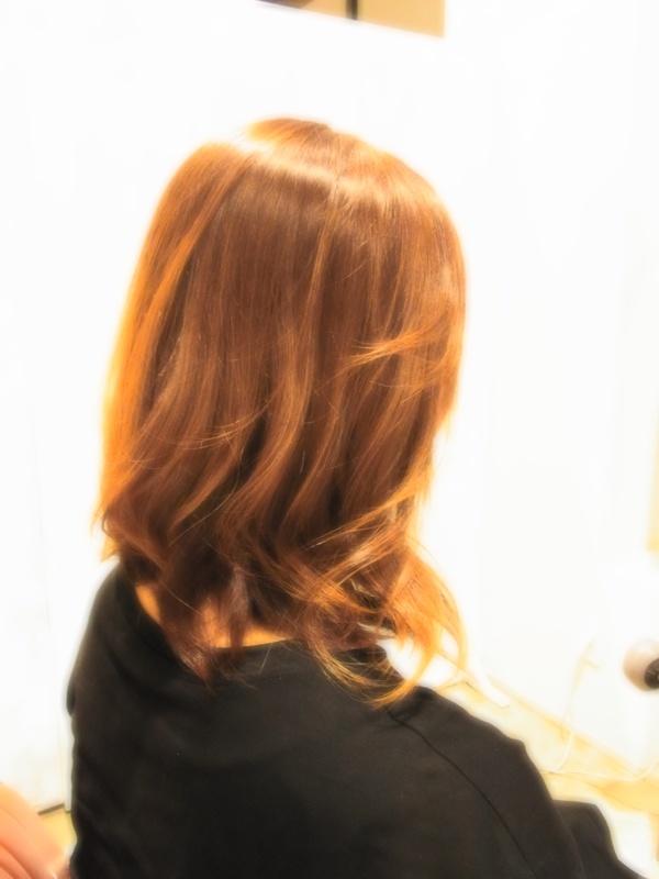 スタイリング簡単プレミアムスーパーカット☆☆☆☆☆&外巻きセミディ☆ヘアスタイル☆のサムネイル