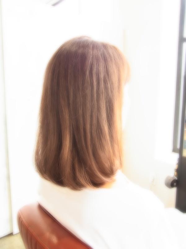 スタイリング簡単プレミアムスーパーカット☆☆☆☆☆&セミディ☆ヘアスタイル☆のサムネイル