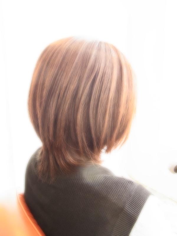 ボンジュール☆フェミニンミディアム☆ヘアスタイル☆