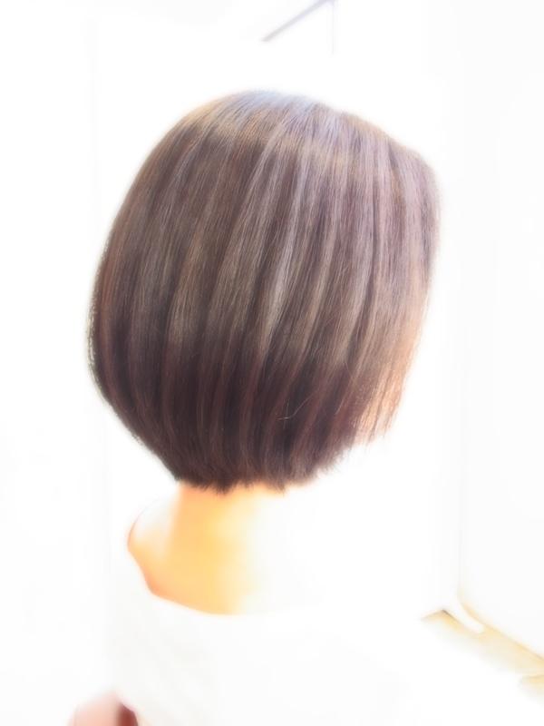 スタイリング簡単プレミアムスーパーカット☆☆☆☆☆&シンプルBOBヘアスタイル☆のサムネイル