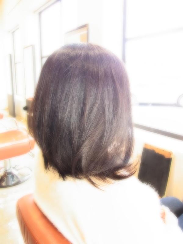 スタイリング簡単プレミアムスーパーカット☆☆☆☆☆&上品ミディアム☆ヘアスタイル☆のサムネイル