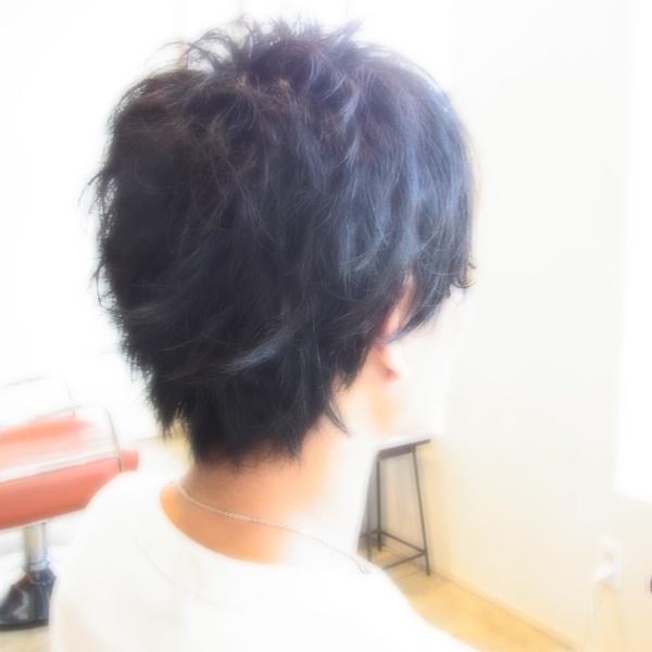 スタイリング簡単プレミアムスーパーカット☆☆☆☆☆&メンズパーマ☆ヘアスタイル☆