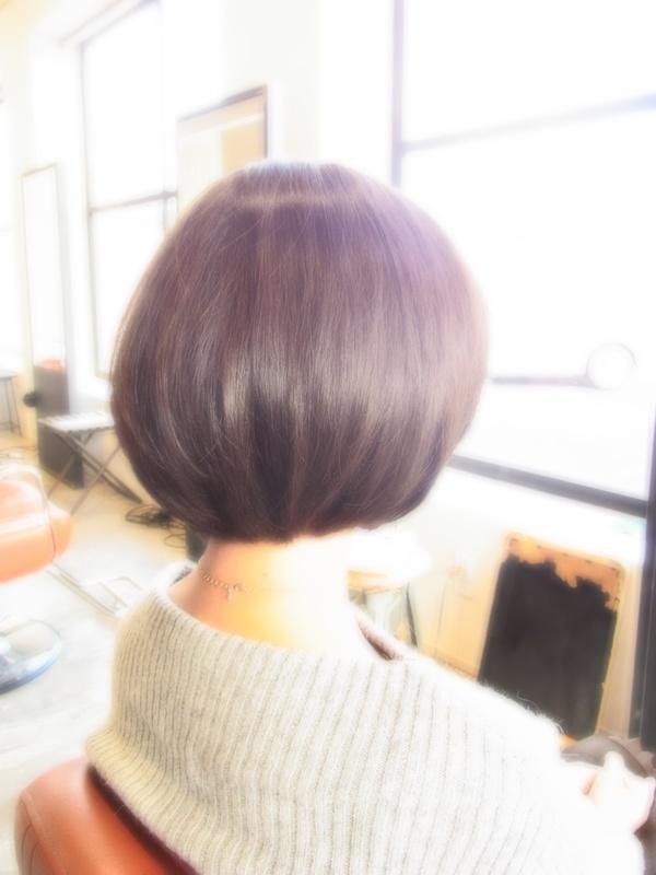 ボンジュール!フェミカジュアルショートBOB☆ヘアスタイル☆