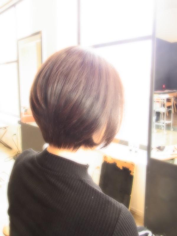 スタイリング簡単プレミアムスーパーカット☆☆☆☆☆&上品ショートBOBヘアスタイル☆のサムネイル