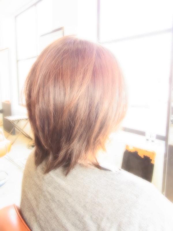 スタイリング簡単プレミアムスーパーカット☆☆☆☆☆&ミディアムShortヘアスタイル☆のサムネイル