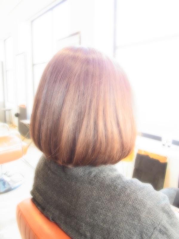 ボンジュール!フェミカジュアルBOB☆ヘアスタイル☆