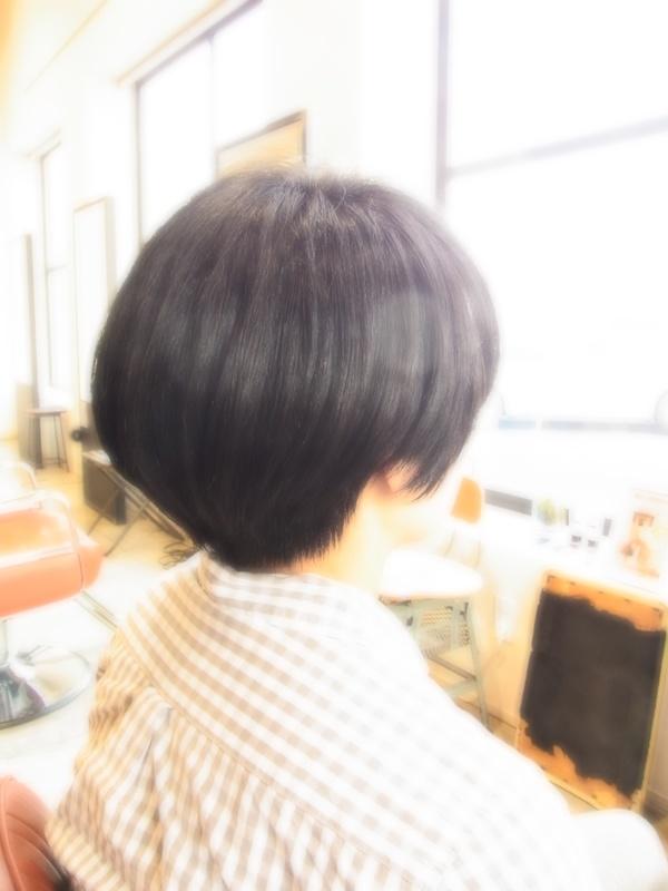 スタイリング簡単プレミアムスーパーカット☆☆☆☆☆&黒髪SHORT☆ヘアスタイル☆のサムネイル