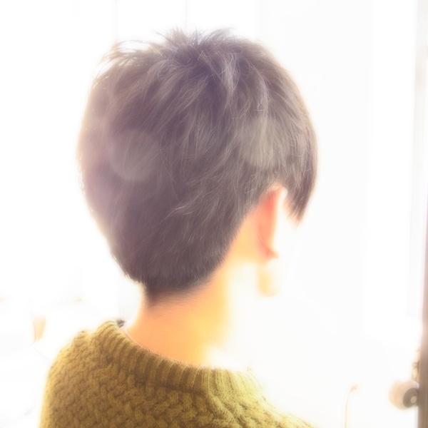 スタイリング簡単プレミアムスーパーカット☆☆☆☆☆&men'sShort☆ヘアスタイル☆