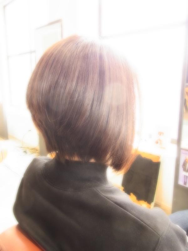 スタイリング簡単プレミアムスーパーカット☆☆☆☆☆&前下がりBOB☆ヘアスタイル☆のサムネイル