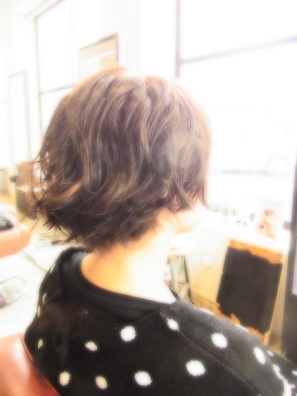 スタイリング簡単プレミアムスーパーカット☆☆☆☆☆&SHORTパーマ☆ヘアスタイル☆のサムネイル