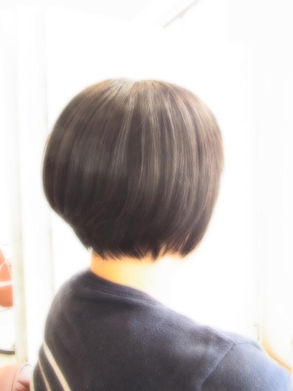 スタイリング簡単プレミアムスーパーカット☆☆☆☆☆&SHORT☆BOB☆ヘアスタイル☆のサムネイル