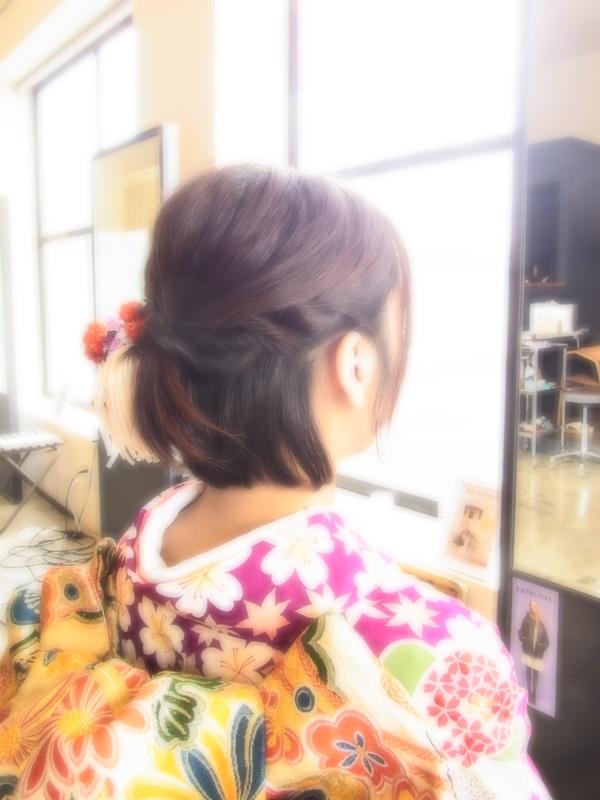 結婚式☆パーティー☆ヘアアレンジ☆ハーフUP☆☆☆☆☆のサムネイル