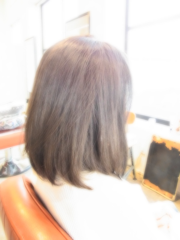 ボンジュール☆フェミカジュアルミディアム☆ヘアスタイル☆