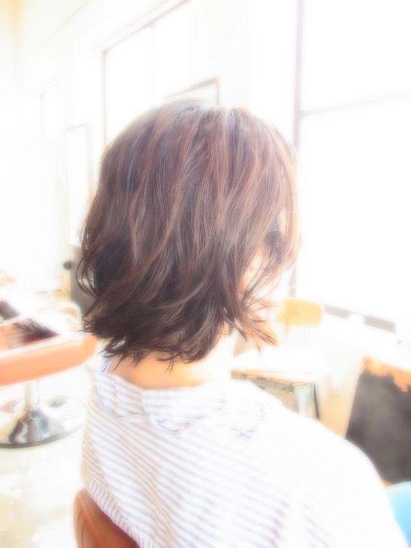 スタイリング簡単プレミアムスーパーカット☆☆☆☆☆&BOBパーマ☆ヘアスタイル☆のサムネイル