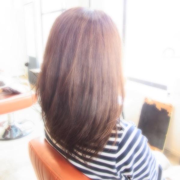 スタイリング簡単プレミアムスーパーカット☆☆☆☆☆&セミロング☆ヘアスタイル☆