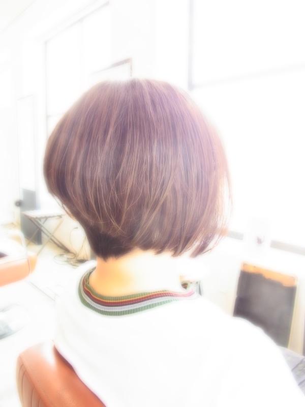 ボンジュール!フェミカジュアルSHORT☆BOB☆ヘアスタイル☆